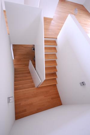 der zinkenbiber - News: Offenes Treppenhaus